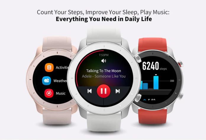 AMAZFIT GTR 42mm Smart Watch 12 Days Battery Life 5ATM Waterproof