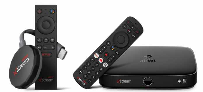 Airtel Xstream Stick and Xstream 4K Hybrid Box launched for Rs. 3999 2