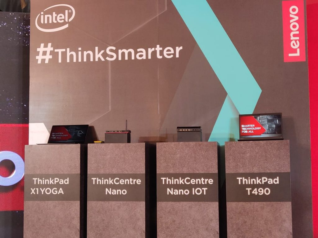 Lenovo unveils smart ThinkPad laptops