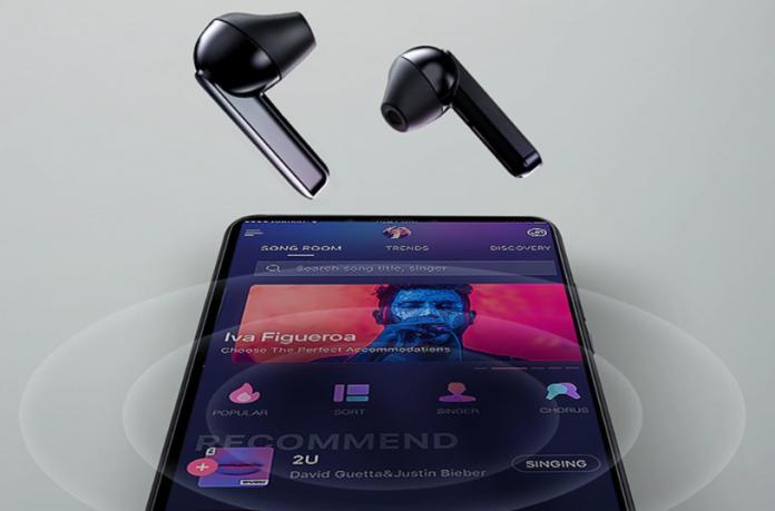 QCY T3 TWS Fingerprint Touch Wireless Headset