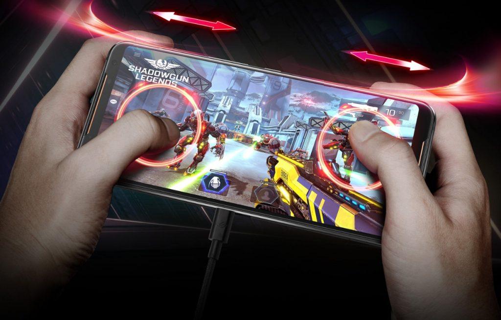 ROG Phone II ROG Air triggers