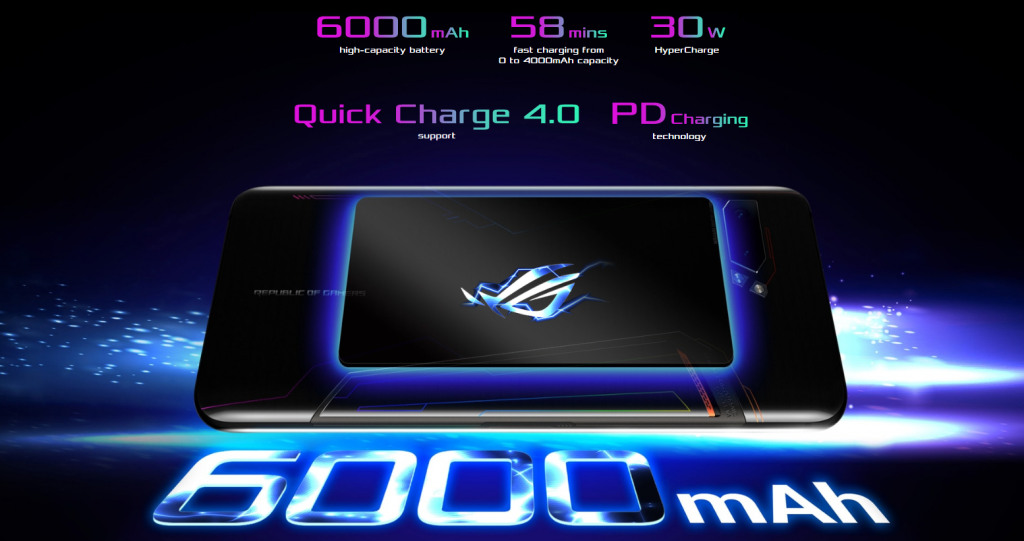 ROG Phone II ROG battery 6000mah