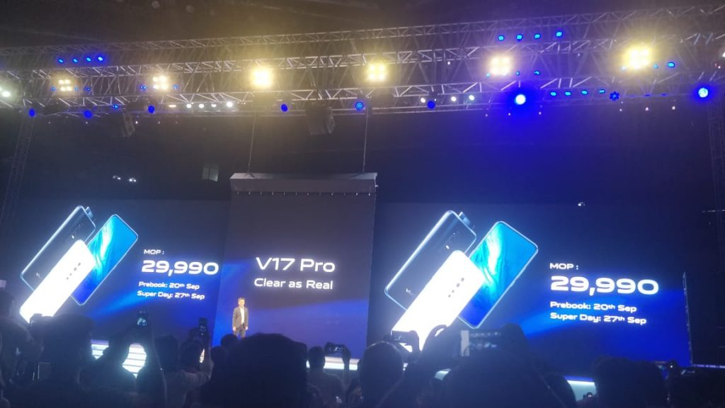 Vivo V17 Pro With Dual Pop-Up Selfie Cameras Launched in India