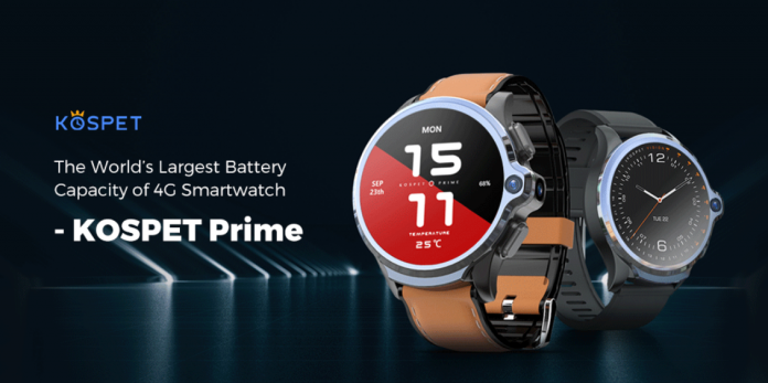 KOSPET Prime 4G Smart Watch Phone Offered For $159 Only 1