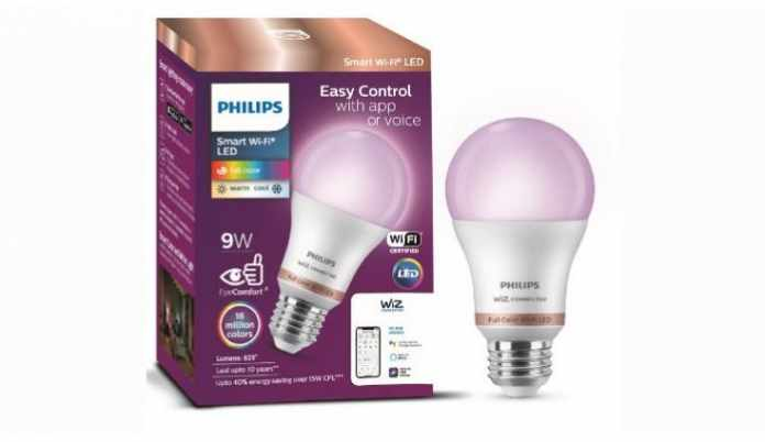 Philips Smart Wi-Fi LED bulb launched in India