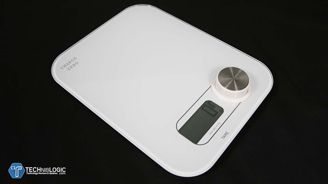 Charge Zero Kitchen Scale - Best Kitchen Digital Weighing Scale