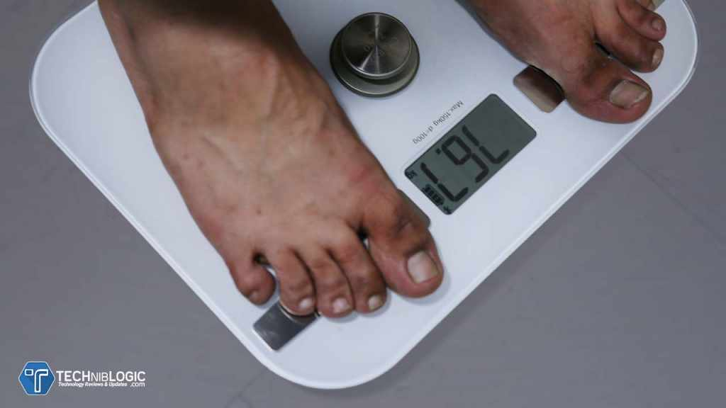 Charge Zero Smart Scale with Smart Body Composition Analysis