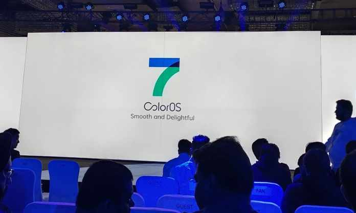 ColorOS 7 launched in oppo phones