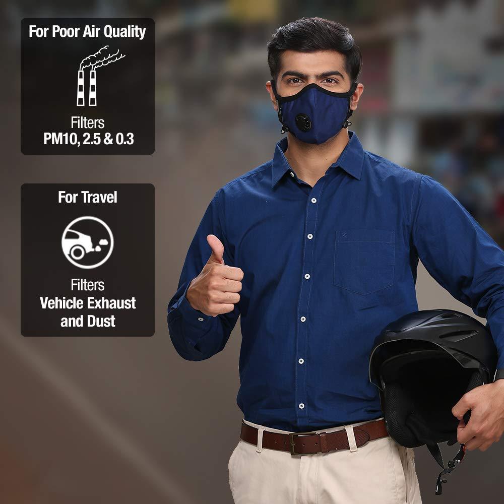 Dettol Pollution Mask N95 Cambridge Reusable,