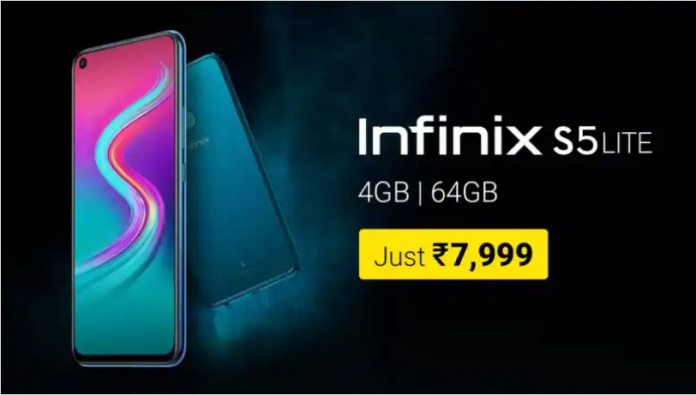 Infinix, a Hong Kong based smartphone manufacturer has recently launched Infinix S5 Lite after the launch of Infinix S5. This smartphone offers a punch hole display design and is priced only for Rs. 7,999. It features a triple rear camera setup unlike Infinix S5 that s[ported a quad rear camera setup. Features/Specifications: 1.It comes with a modern punch hole display design with a 6.6-inch HD+ screen. 2.It is powered by a MediaTek Helio p22 chipset. 3.It supports face unlock as well as a rear mounted fingerprint sensor for authentication. 4.It operates on XOS 5.5 on top of Android 9 Pie 5.It supports an AI 3D face beauty mode. 6.It sports a triple rear camera set up which includes a 16-megapixel main sensor, a 2-megapixel depth sensor for portrait shots, and a low-light sensor. 7.It features a 16-megapixel selfie camera. 8.It is backed up by a battery of 4,000mAh battery. Price and Availability: Infinix S5 Lite is available 4GB RAM and 64GB of inbuilt storage. It is available in three colors and the internal storage can be expanded up to 256GB using a microSD card. The smartphone is priced for Rs. 7999 and is available on Flipkart