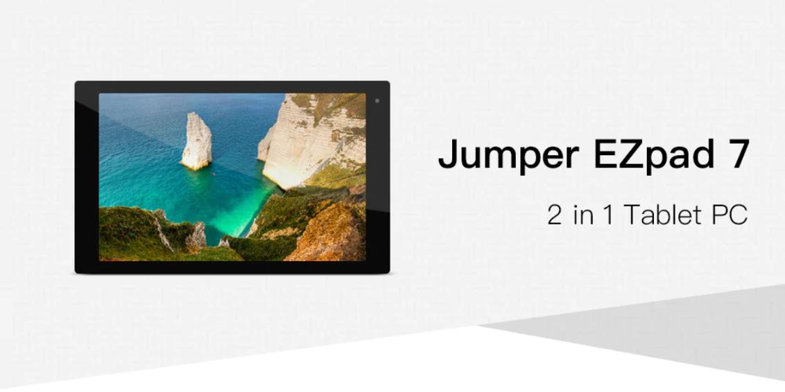 Jumper EZpad 7 2-in-1 Tablet PC Gearbest