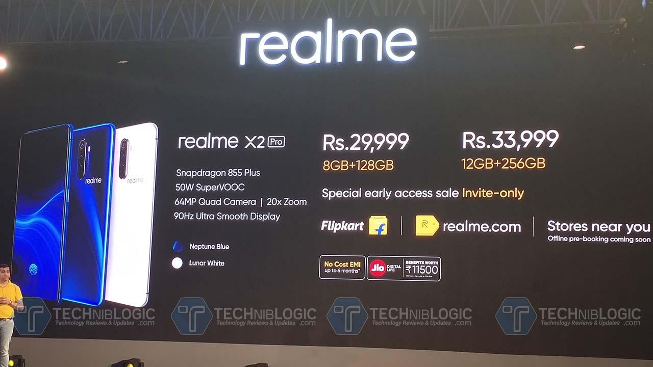 Realme X2 Pro With 64MP Quad Camera