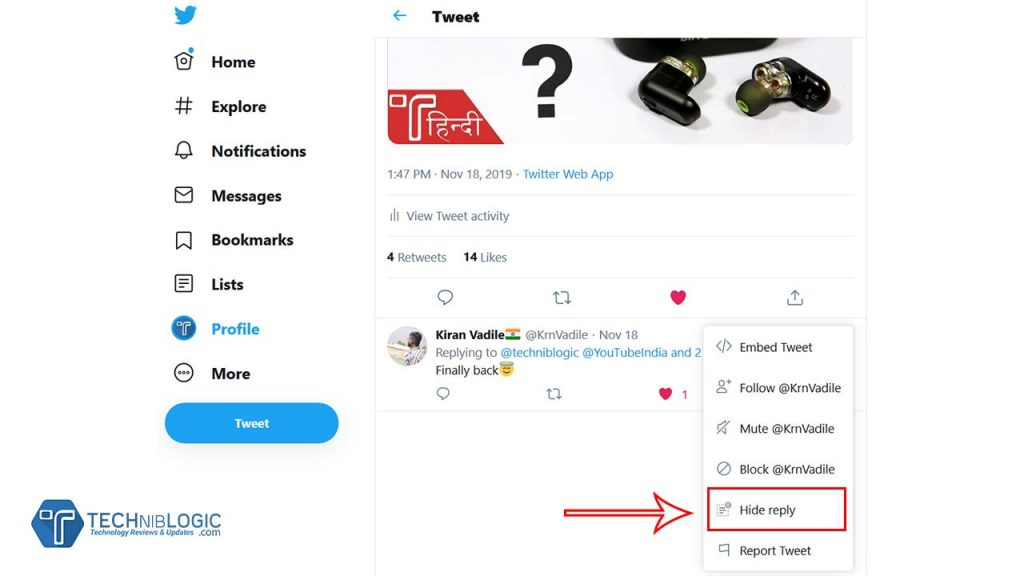 Twitter introduces feature to 'Hide Replies
