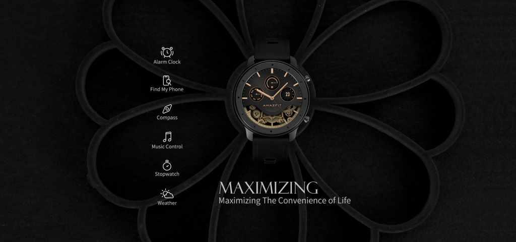 Amazfit GTR Lite Smartwatch onn sale gearbest