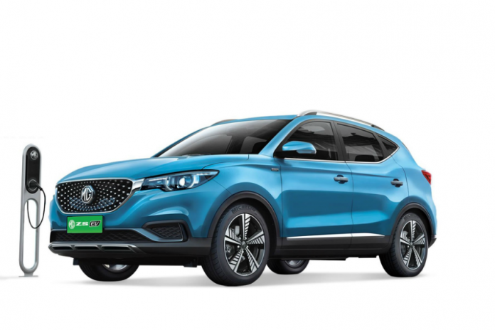 MG ZS Electric SUV Unveiled In India