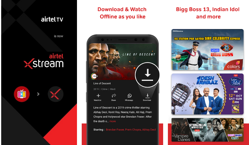Airtel-Xstream-(Airtel TV)-Live-TV-Movies-Shows-Live-Tv-App