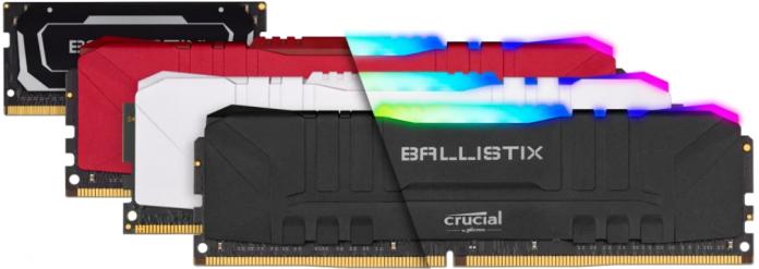 Micron Announces Next-Generation Crucial Ballistix Gaming Memory