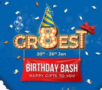 ShopClues celebrates GR8EST Birthday bash Anniversary Sale 2