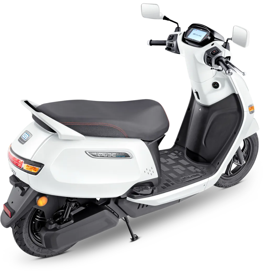 TVS motors enters electric segment with iQube scooter