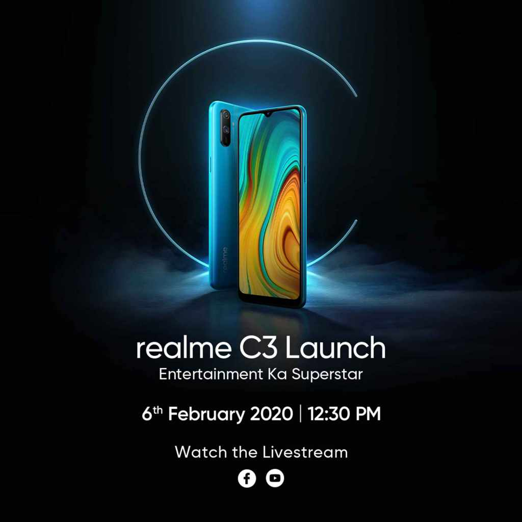 launch of realme C3