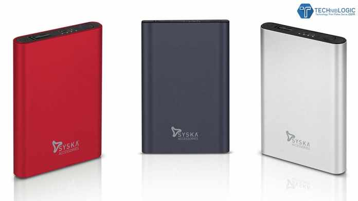 Syska P0511J Power Bank launched