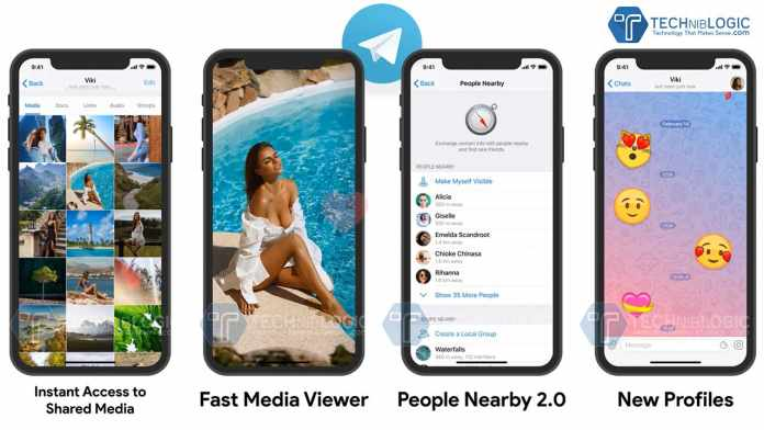 Telegram 5.15 launches People Nearby 2.0 along