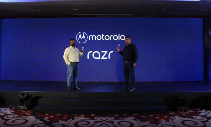 Motorola Razr now official in India