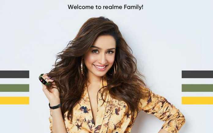 Sharddha Kapoor is announced as the new brand ambassador for Realme