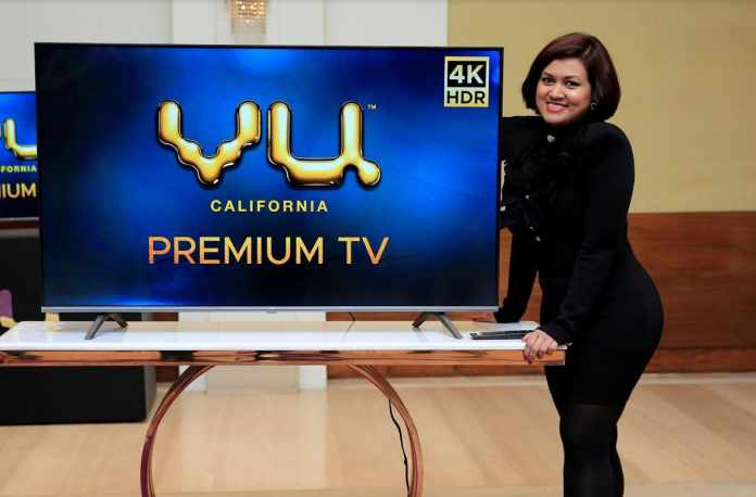 Vu Televisions leads the 4K television industry with the launch of Vu Premium 4K TV