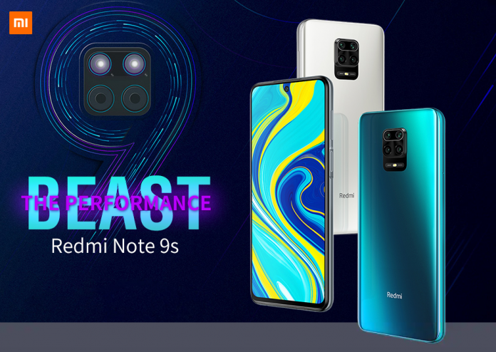 Xiaomi Redmi Note 9S smartphone launched