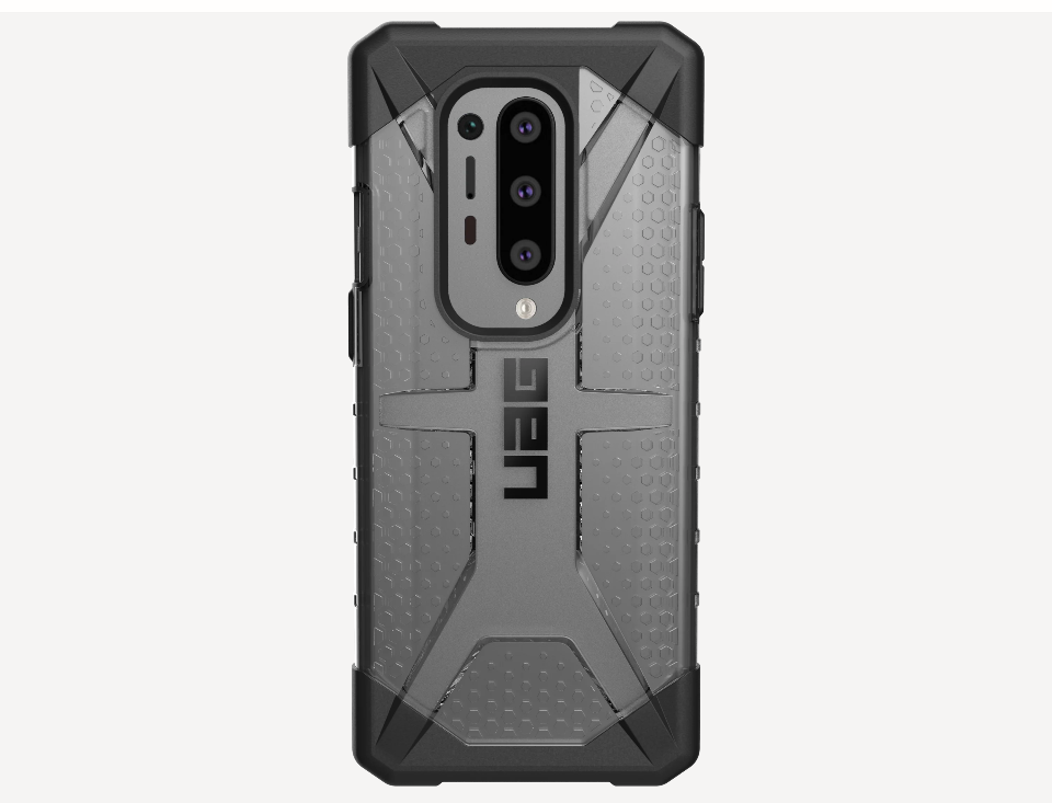 Plasma Series OnePlus 8 Pro Rugged Translucent Case