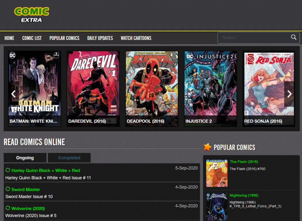 Read Comics Online For Free Marvel, DC, Dark Horse Comics