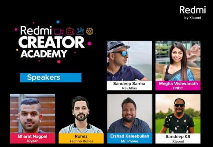Redmi Creator Academy