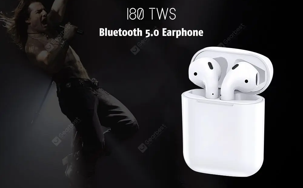 i80 TWS Bluetooth 5 Earphone Best Knock Off Airpods