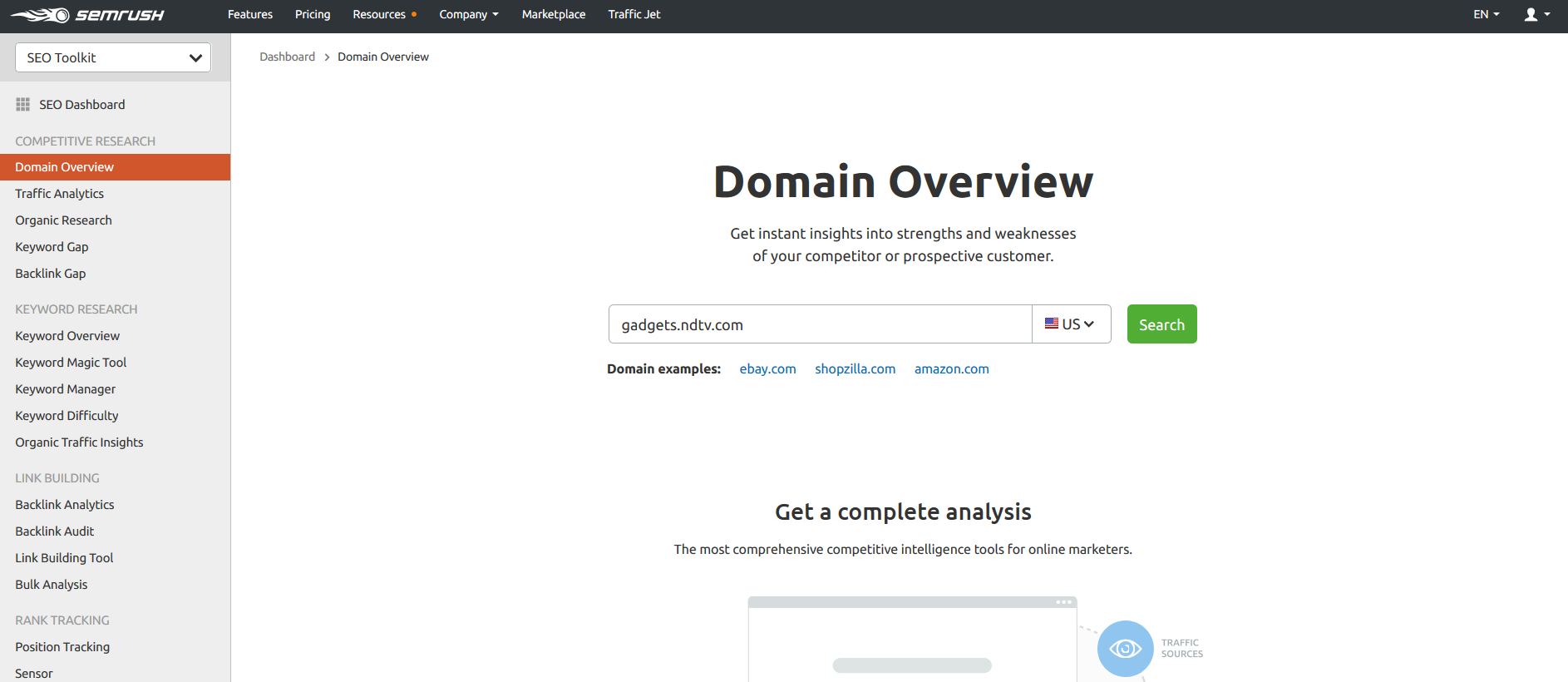 Domain Overview