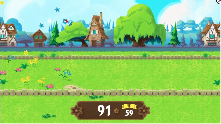Garden Gnome catapult game by google
