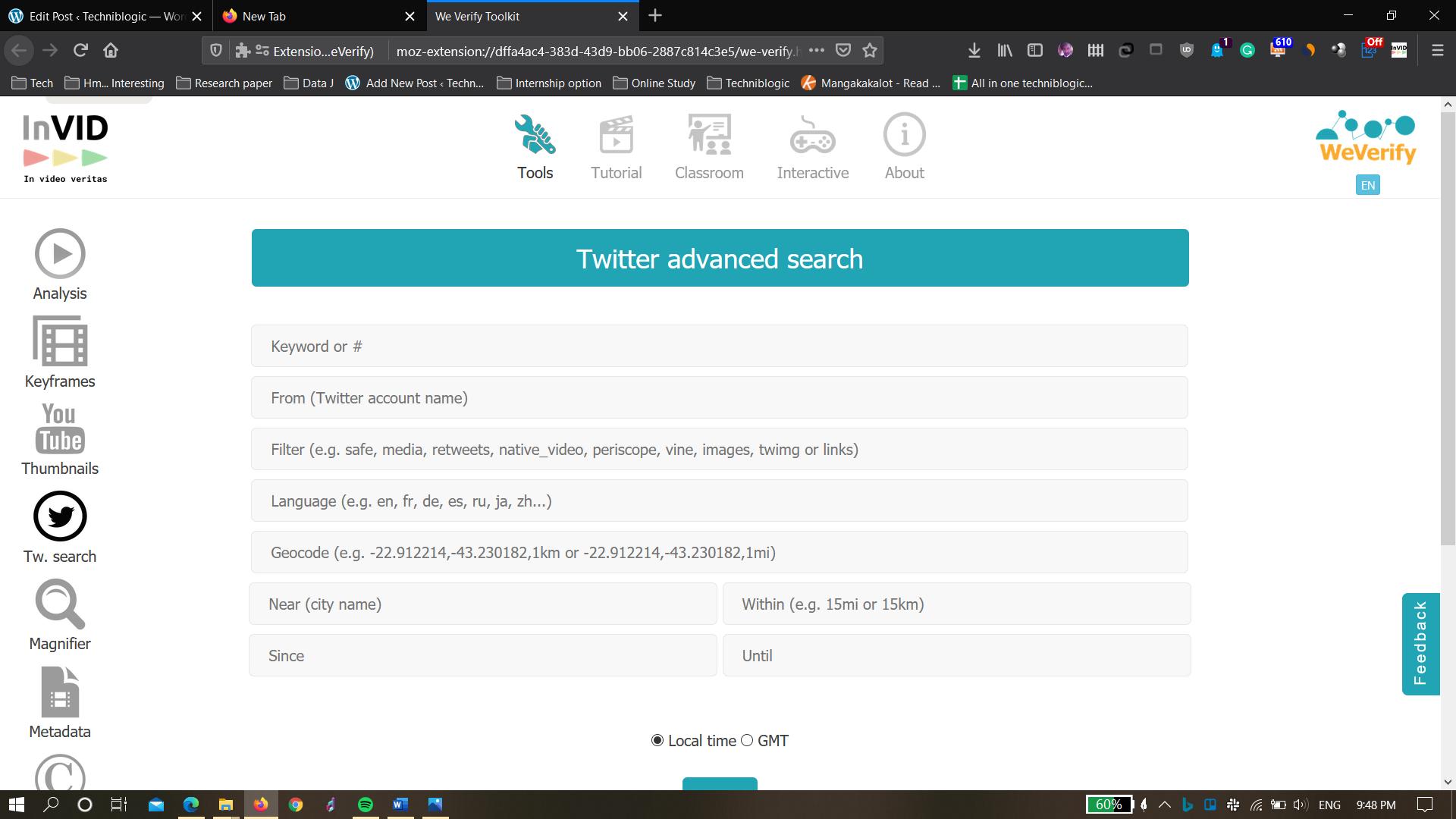 InVid-Twitter
