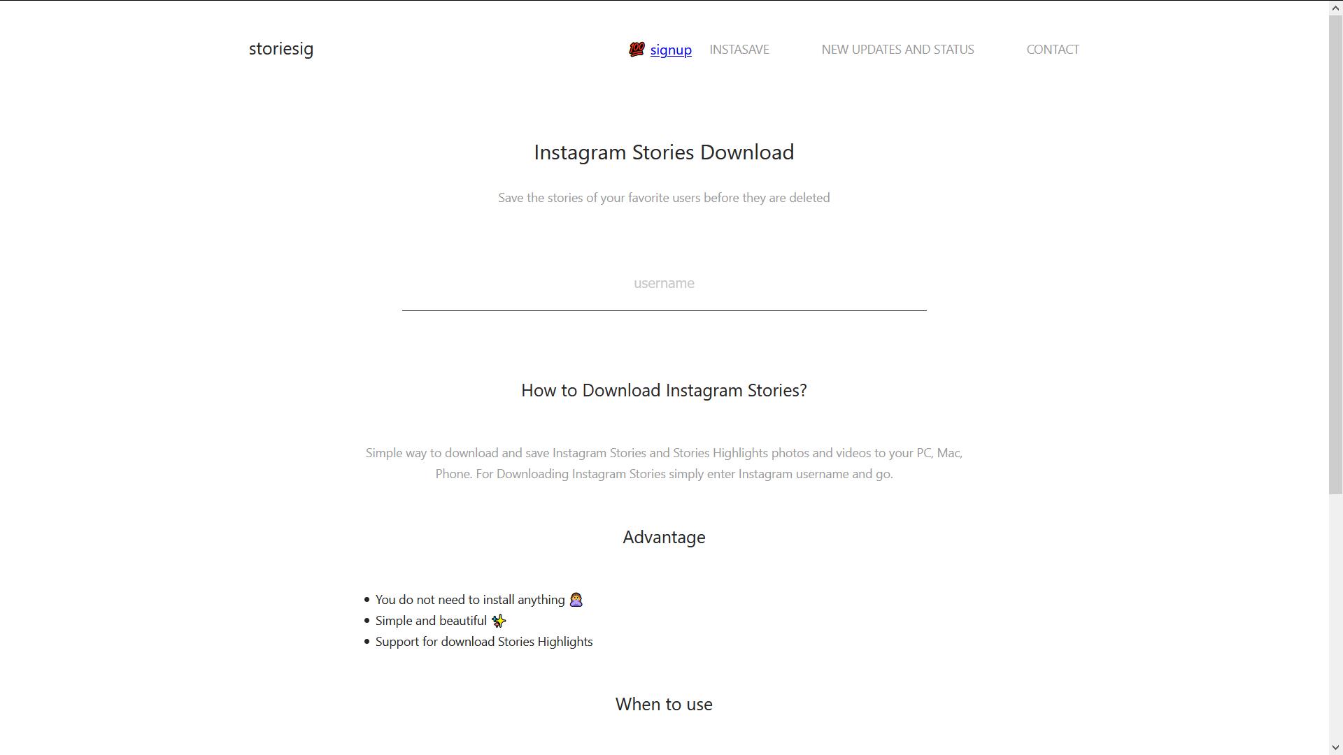 Storiesig.com