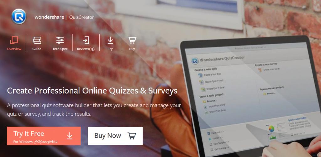 Wondershare QuizCreator Powerful Quiz Maker
