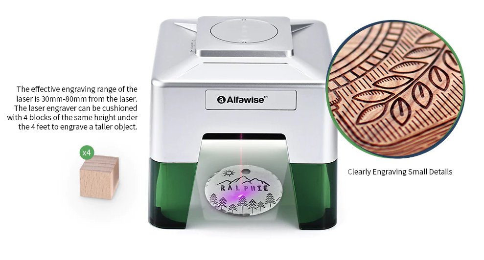 Alfawise C50 Laser Engraving Machine
