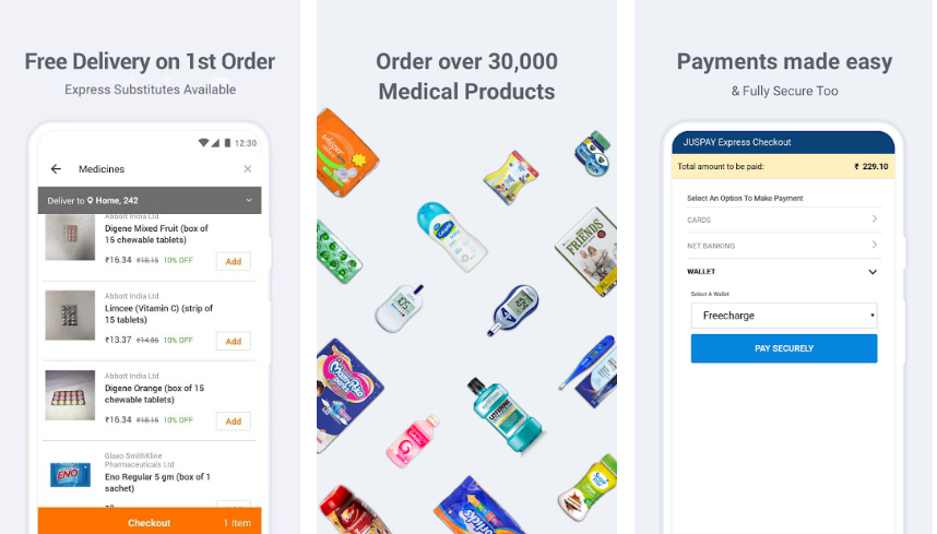 ML-Xpress(Myra)-Best-Online-Medicine-App