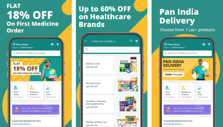PharmEasy-Best-Online-Medicine-App