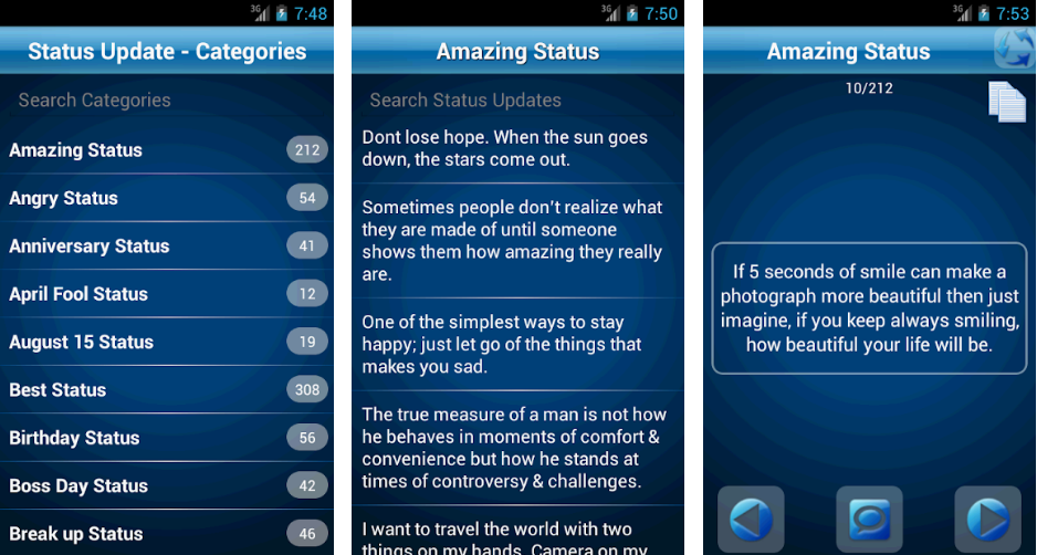 50000 Status Quotes Collection-best-quotes-app