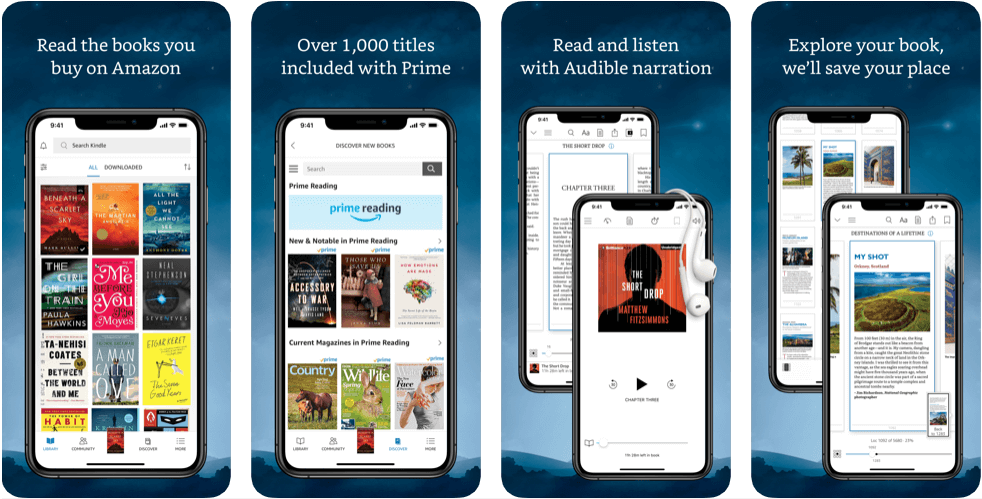 Amazon-Kindle-Best-App-for-Book-Lover