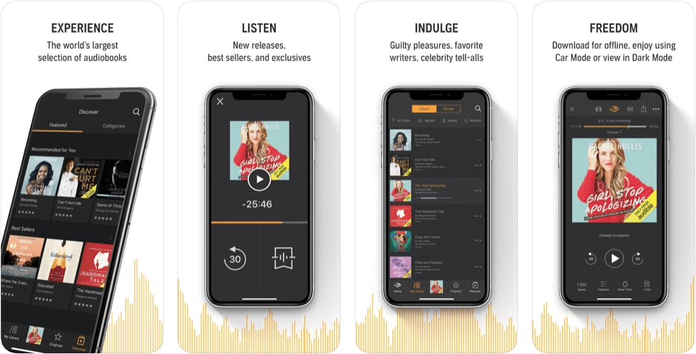 Audible-Best-App-for-Book-Lover