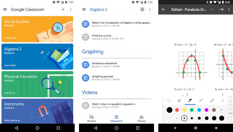 Google-Classroom-Best-Student-App