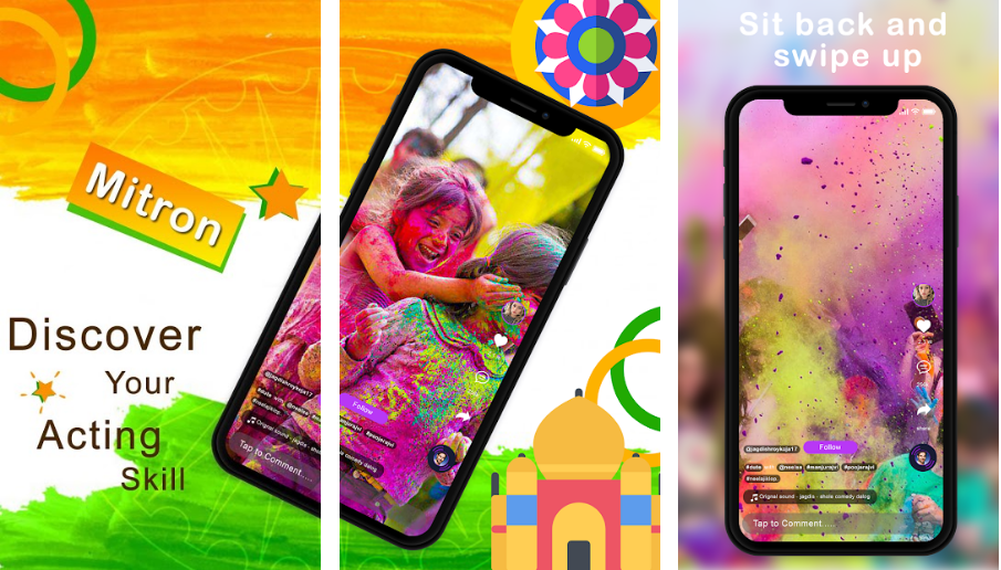 Mimic ly-best-made-in-india-app-like-tiktok