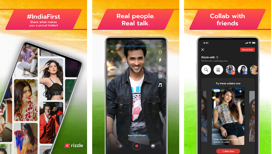 Rizzle-best-made-in-india-app-like-tiktok