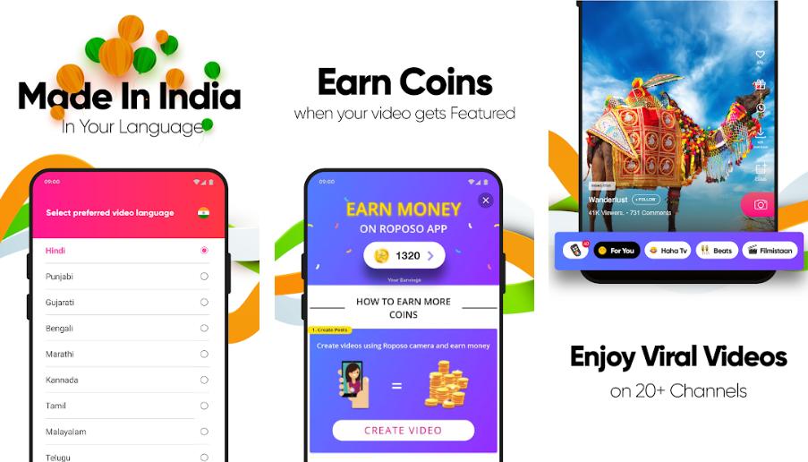 Roposo-best-made-in-india-app-like-tiktok
