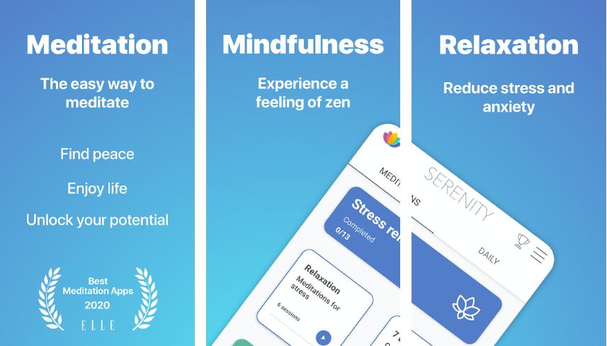 Serenity-Best-Meditation-App
